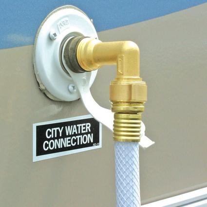 Water Hose Entry Elbows