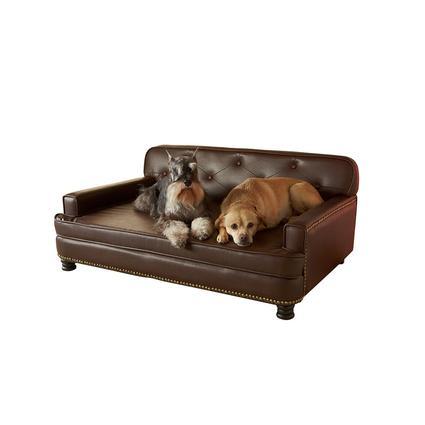 Library Pet Sofa, Brown