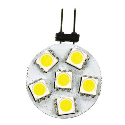 6 LED JC10 Disk, 2 Pack- Bright White
