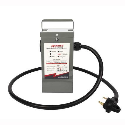 Hughes RV Autoformer Voltage Boosters Surge Protector, 30 Amp