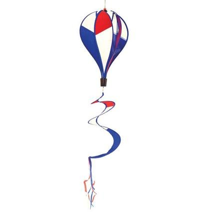 In The Breeze Patriotic Hot Air Balloon Wind Spinner