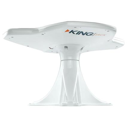 KING Jack HDTV Directional Antenna with Mount, White