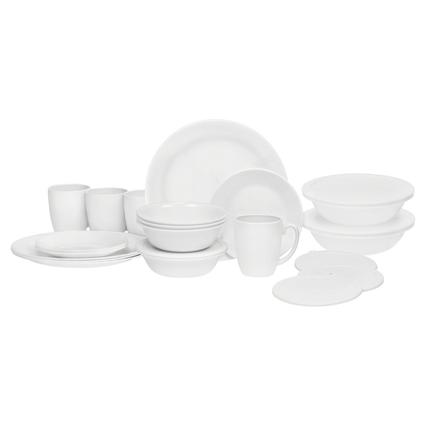 Corelle Winter Frost White, 24 Piece