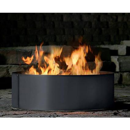 Solid 3 Piece Fire Ring, 38