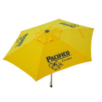 Pacifico Beer Push-Up Market Patio Umbrella, 8.5'