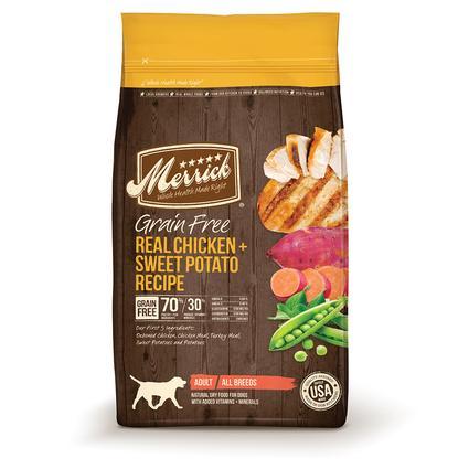 Merrick Grain-Free Pet Food, Chicken, 25 lb. Bag