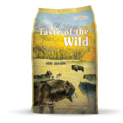 Taste of the Wild High Prairie Canine Formula with Roasted Bison Roasted Venison, 5 lb. Bag