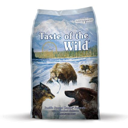 A Taste of the Wild Pacific Stream Canine Formula with Smoked Salmon, 30 lb. Bag