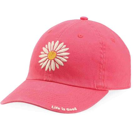 Life is Good Pink Daisy Chill Cap