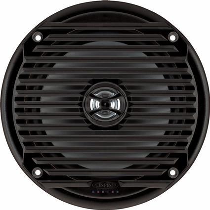Jensen MS6007BR Black Waterproof Speaker, Set of 2