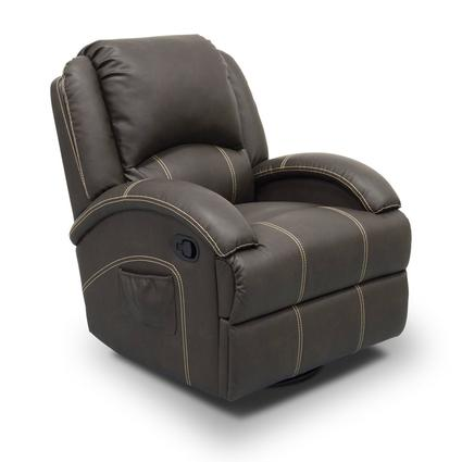 Thomas Payne Collection Heritage Series Swivel Glider Recliner, Oxford Walnut