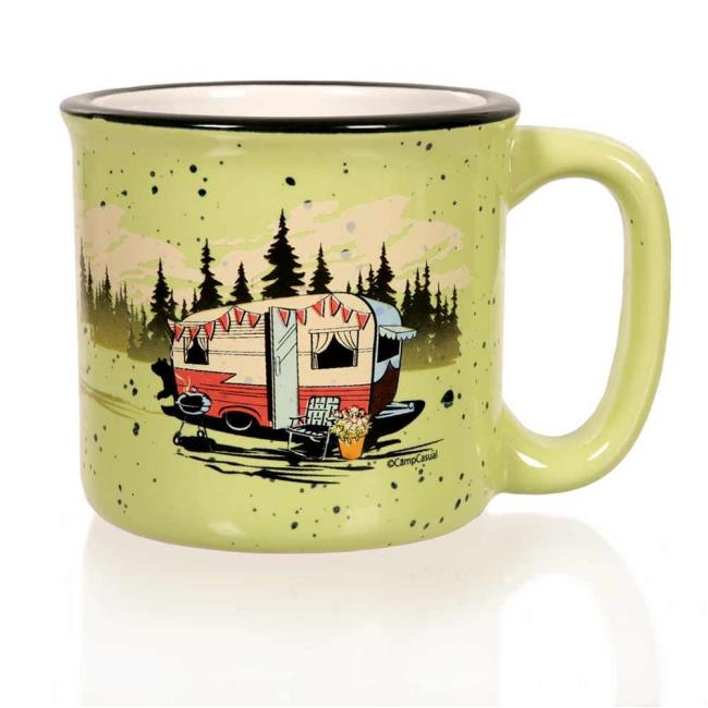 Camp casual mug green camp casual cc 004g cups mugs image camp casual mug green to enlarge the image click or press enter gumiabroncs Image collections