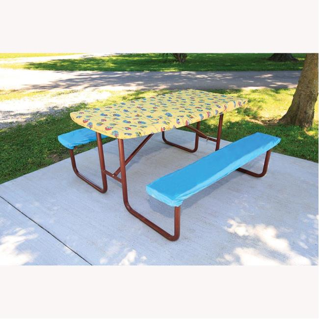 Adventurer Picnic Table Cover Direcsource Ltd Tablecloths - Outdoor picnic table covers