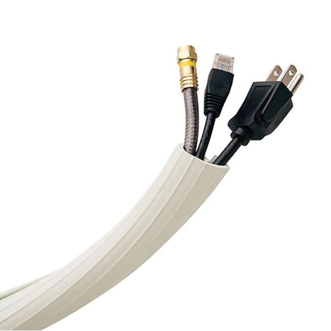 Flexi Cable Wrap, 12\' - Rubbo International Inc UTW-FCW12-BK - Cord ...