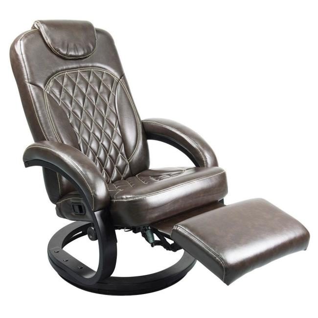 Image Thomas Payne Collection Euro Recliner Chair, Standard Euro, Jaleco  Espresso. To Enlarge .