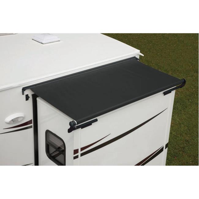 Image Dometic Deluxe SlideTopper With Vinyl Weathershield. To Enlarge The  Image, Click Or Press .