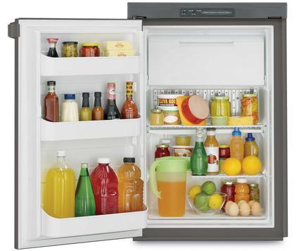 Dometic Americana RM2451 2-Way Refrigerator, Single Door, 4.0 Cu. Ft.