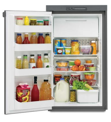 Dometic Americana RM2551 2-Way Refrigerator, Single Door, 5.0 Cu. Ft.