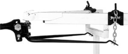Reese Round Bar Weight-Distributing Hitch, 1200 lbs. Max Tongue Weight