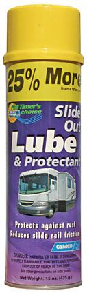 Slide Out Lube Spray