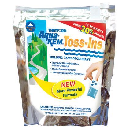 Aqua-Kem Toss-Ins, Powder Fresh