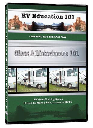 RV Education 101, DVD - Class A Motorhome