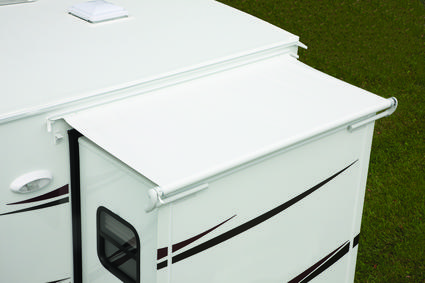 Replacement Fabric for Dometic Deluxe EZ Slidetopper, Polar White, 150
