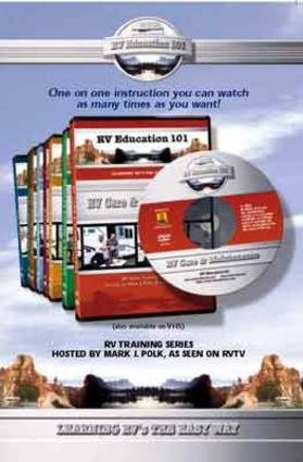 RV Education 101 DVDs