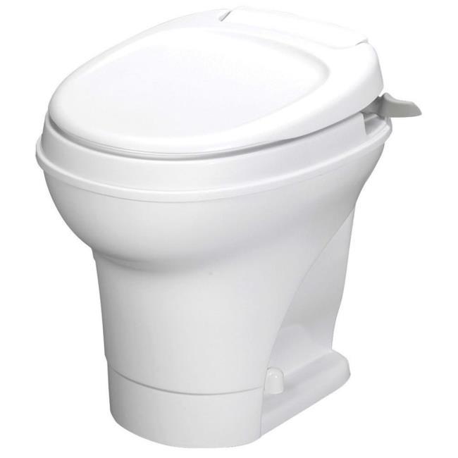 Aqua-Magic V Toilet High Profile Hand Flush - White - Thetford 31667 ...
