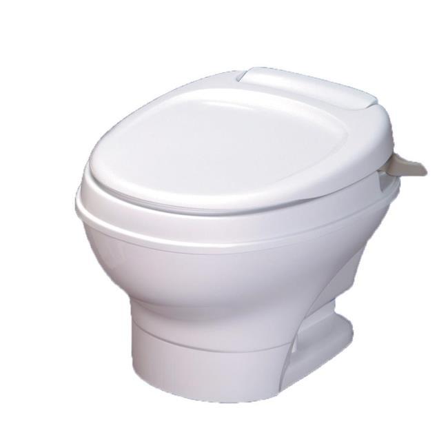 Aqua Magic V Toilet Low Profile Hand Flush - White - Thetford 31657 ...