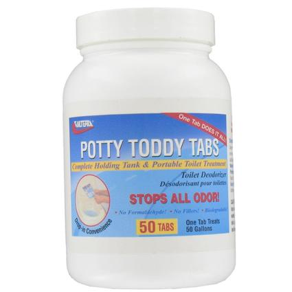 Potty Toddy Tabs, - Pkg. of 50