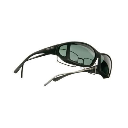 Cocoons Sunglasses, Wide Line - Grey