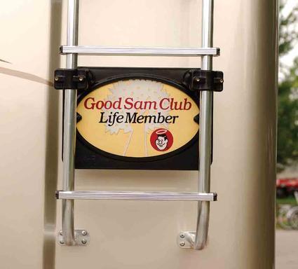 Frame-Rite Membership Plaque Holder, Recessed Mount