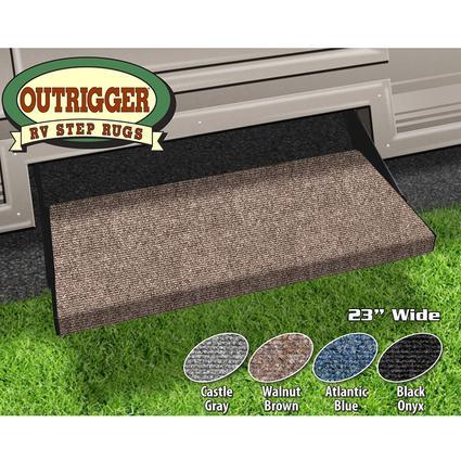 Outrigger RV Step Rug - Walnut Brown, 23