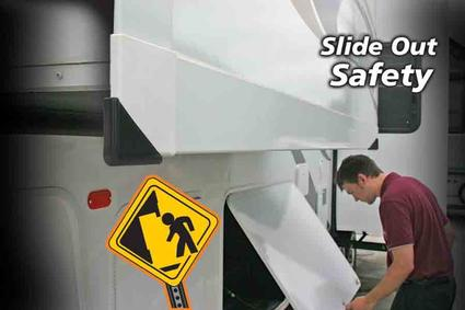 Slideout Corner Guards - Black