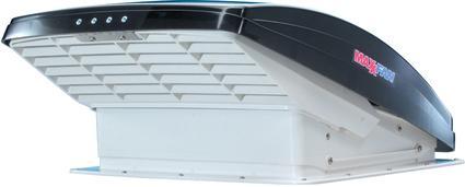 MaxxFan Deluxe Manual-Opening RV Ventilator System, Smoke Lid