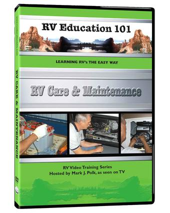 RV Education 101, DVD - RV Care & Maintenance