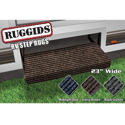 Ruggids RV Step Rug - Sierra Brown