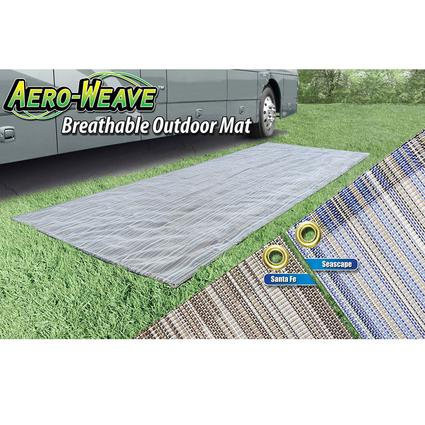 Aero-Weave Breathable Outdoor Mat - SeaScape, 6' x 15'