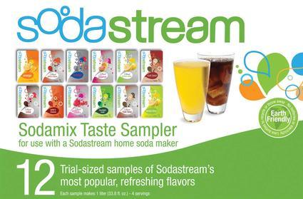 Sodastream Sodamix Sampler Pack