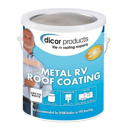Dicor Elastomeric RV Roof Coating, Gallon