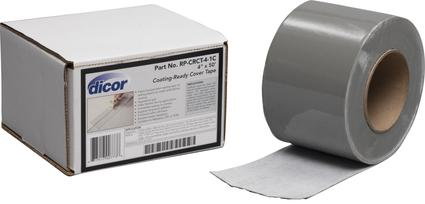 Dicor Coating-Ready Cover Tape, 50'L x 4