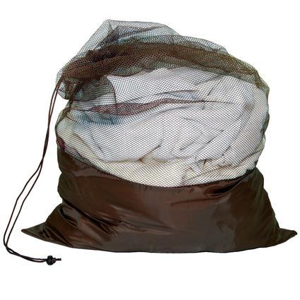 Mesh Laundry Bag - Brown