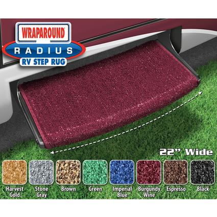 Wraparound Radius Step Rugs