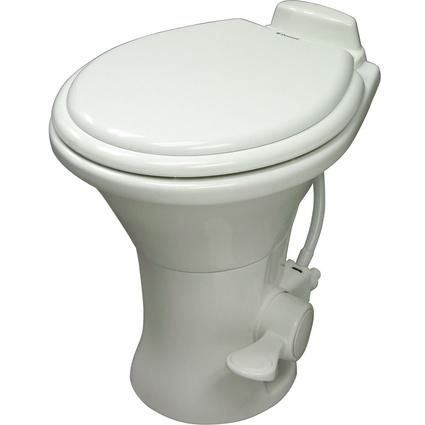Dometic High Profile 310 Series Gravity Discharge Toilets - Bone