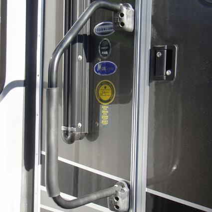 Lend-A-Hand RV Hand Rail - Black