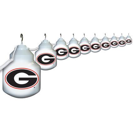 Collegiate Patio Globe Lights, 10 light set - Georgia