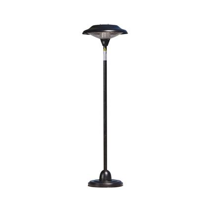 Fire Sense Halogen Patio Heater – Bronze