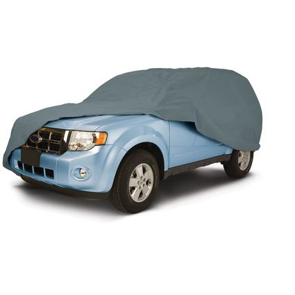 PolyPRO 1 Car Covers - Fits Crew Cab Pickups with Canopies 231
