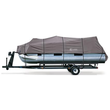 StormPro Pontoon Boat Covers, Fits 21'-24' Pontoon Boats with Beam Width to 96